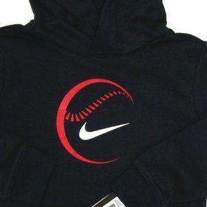 Baseball Nike Hoodie Pullover Athletic Sports Boys